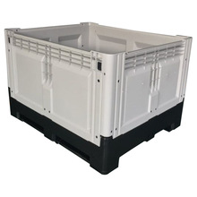 1200*1000*810mm heavy duty stackable plastic folding crate container