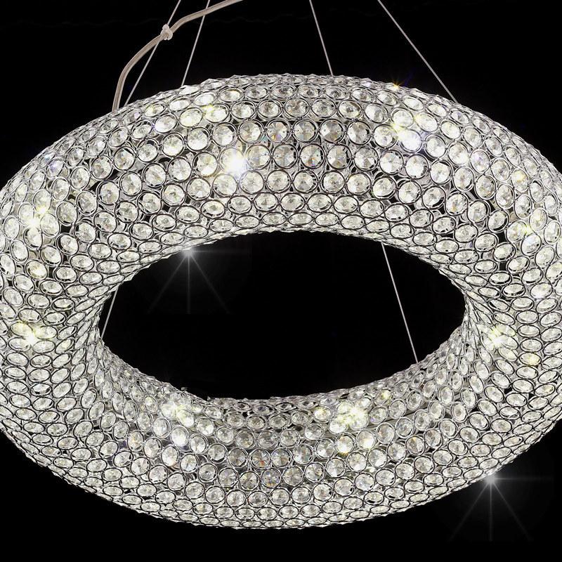 6 8 5 d55cm led kristall h ngeleuchte kronleuchter pendelleuchte deckenleuchte kronleuchter. Black Bedroom Furniture Sets. Home Design Ideas