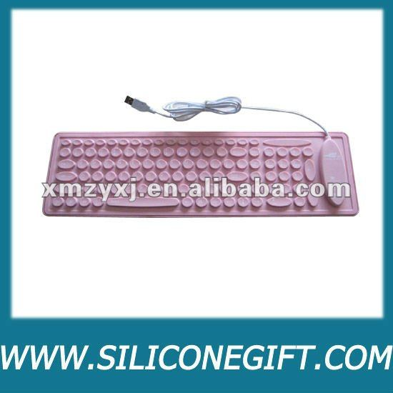 fashion color Silicone keyboard
