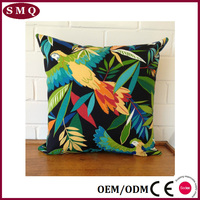 Colorful Exotic Hawaiian Floral Cushion Cover Throw Pillow Case Outdoor