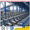 conveyor idler/roller for crusher/breaker belt conveyor carrier roller wheel frame for conveyor roller