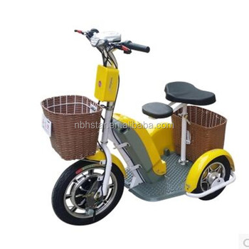 3 Wheel Electric Scooter Tricycle 2 Seat Mobility Trike