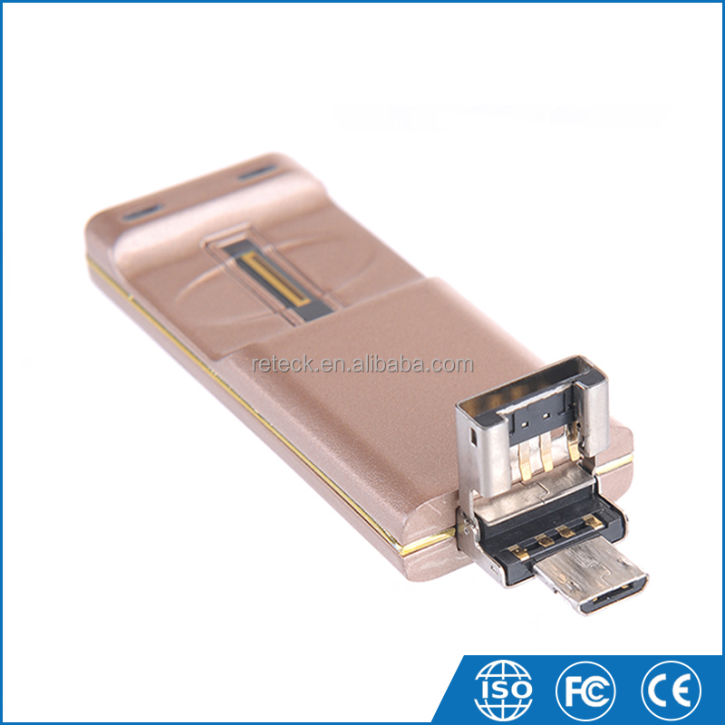 New Clamshell Usb 2.0 Interface Multi Funtion USB Flash Drive with Fingerprint Lock Function