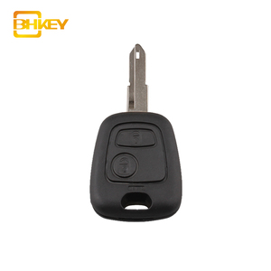 Car Auto Remote Key Fob 434MHZ ID46 Chip 2 Buttons For Peugeot 106 206 306 405