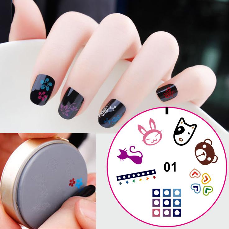 Nail Art Stamping Kit Nail Art Stamping Plates,Nail Art Seal - Buy ...