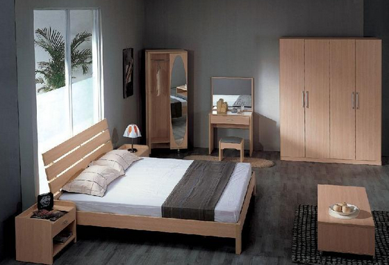Model latest plywood with oak veneer bedroom interior for Bedroom designs plywood