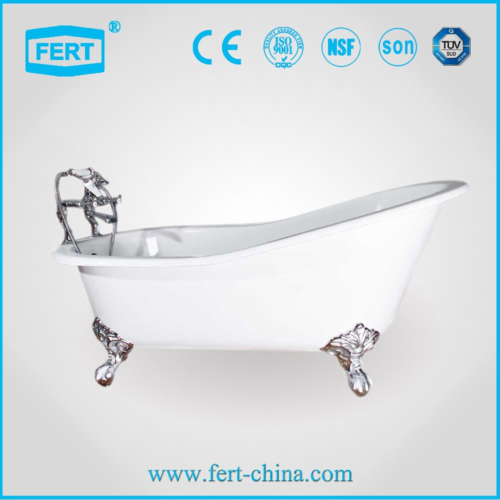used cast iron cheap freestanding bathtub for children FT30009