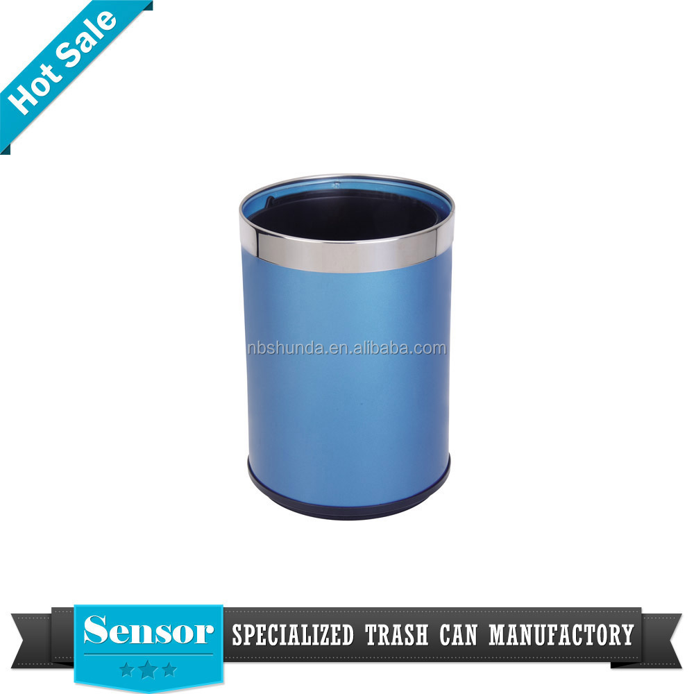 open top standing structure dustbin SS waste bin for kitchen