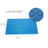 2019 New fashion Cool Gel Sheet for Pillow and mattress and seat cushion Self-adhesive backing factory directly