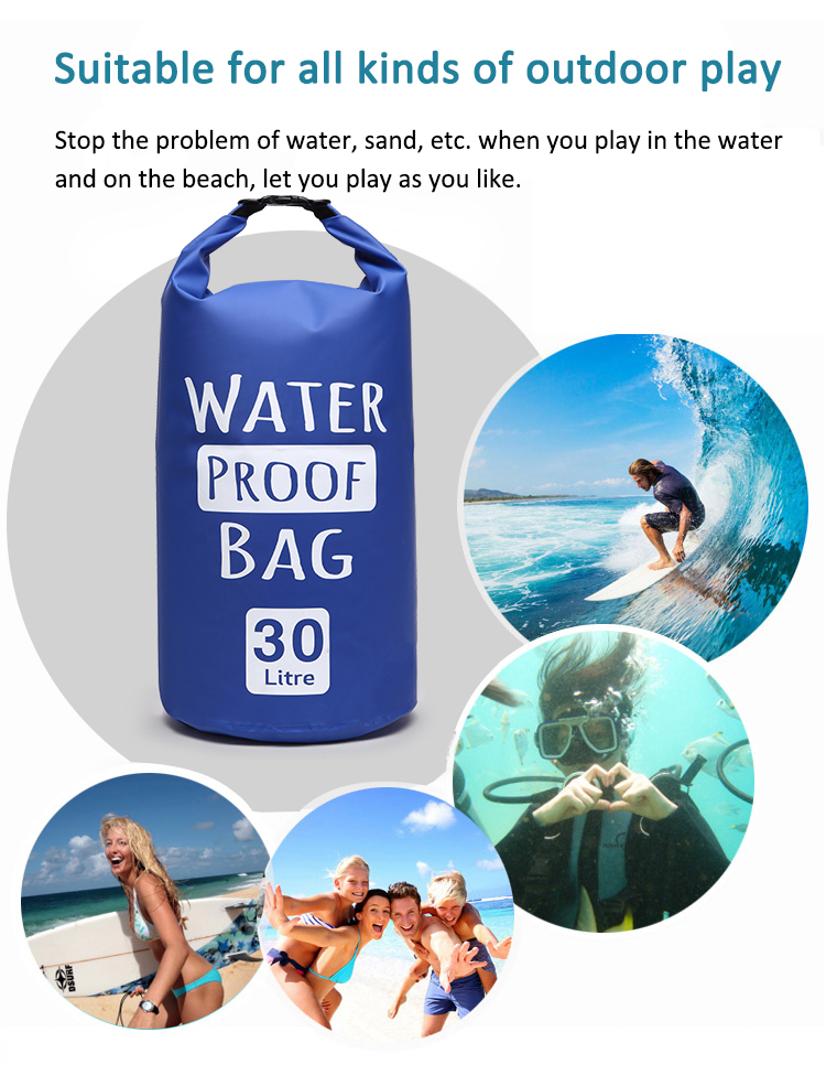 Msee China Outdoor 2l waterproof bag 2l portable sports waterproof pvc bag dry