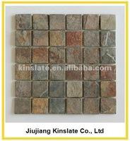 Natural Rustic Slate Wall 12x12 Mosaic Tile