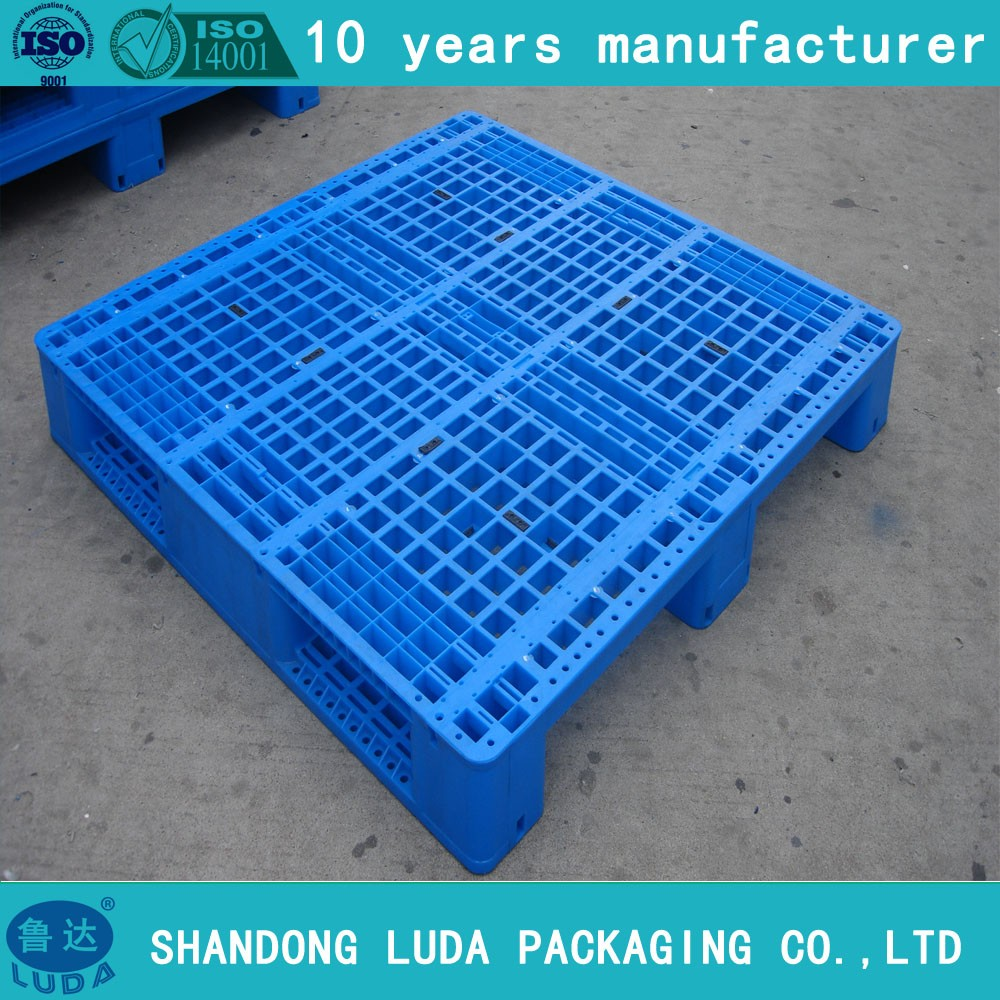 Plastic light duty industrial hdpe recycled euro pallet price 1200 x 800mm