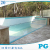 PG Non Yellowing Custom Transparent Acrylic Panels for Swimming Pool