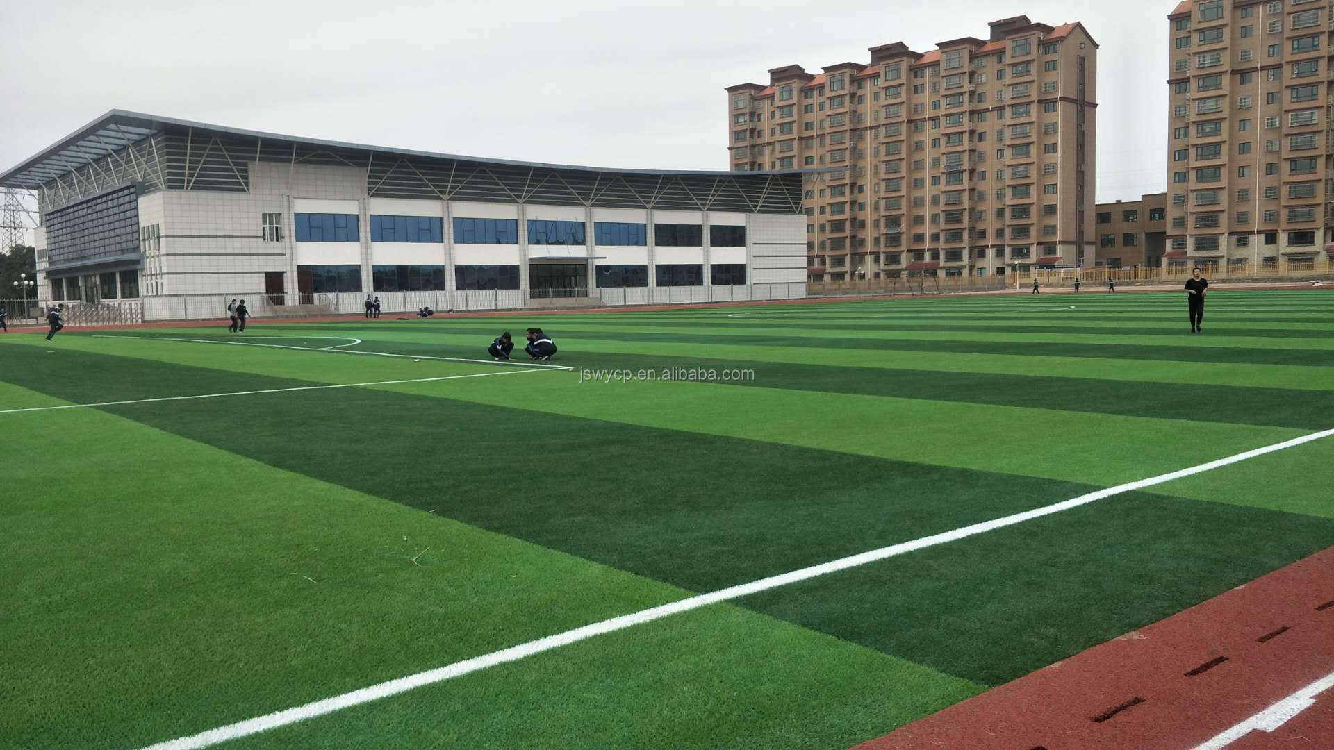 Plastic Synthetic Grass No filling Soccer Football Artificial Turf