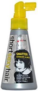 Unisex Sexy Hair Short Hair Shatter Separate and Hold Spray Hair Spray 4.2 oz 1 pcs sku# 1759872MA