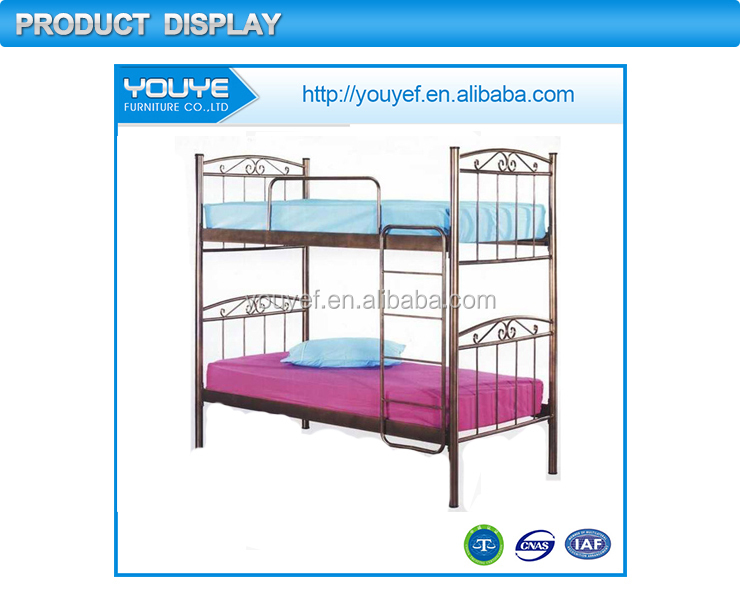 Multifunctional Best quality colorful metal frame bunk bed for kids