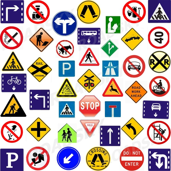 Customized Reflective International Traffic Road Signs And ...