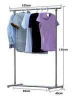 Baiying Wardrobe pull down metal hanging clothes rack