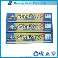 Customize PE transparent best fresh film food grade plastic wrap dispenser