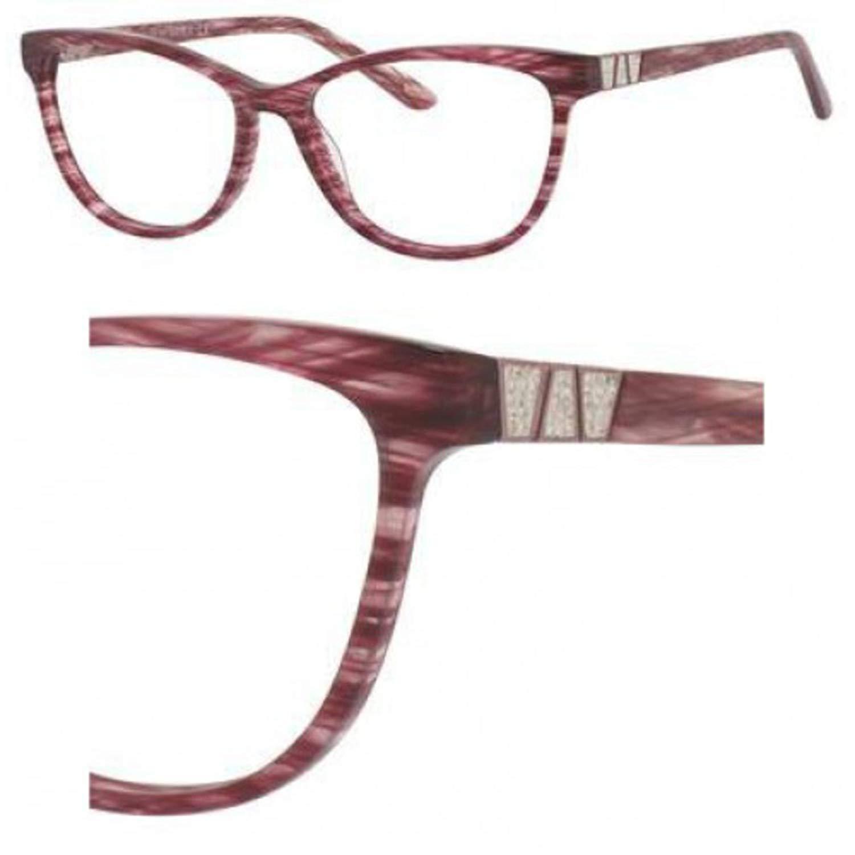 Eyeglasses Saks Fifth Avenue 306 0EM5 Plum Sparkle