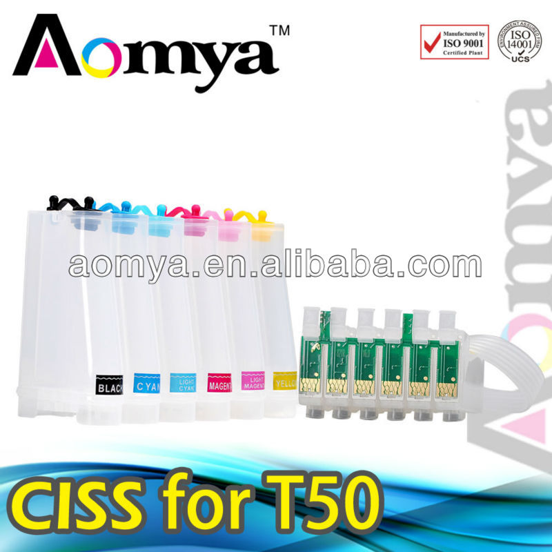 High quality T0851-T0856 ciss for epson 1390 with ARC chip
