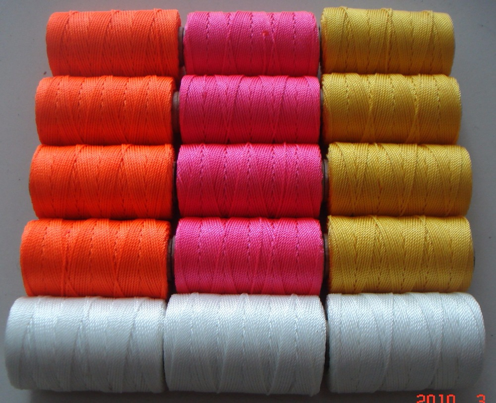 Hardware Use Diameter 1-3mm Any Color Can Be Done 3-strand Twisted Best Permanent Polyethylene Twine Cost-Effective