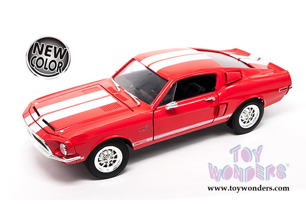 92168R/12 Lucky Road Signature udq329gj3 - Ford Shelby Mustang GT-500KR Hard Top (1968, 1/18 scale diecast model car, Red) 15ff80218rr 92168R/12 diecast car model 92168R/12 Lu