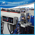 Good plastic two cavity extruder line machine for 20-63mm PP PE water pipe making
