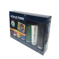 Wholesale Premium Artist Grade Acrylic Paint 6*75ML