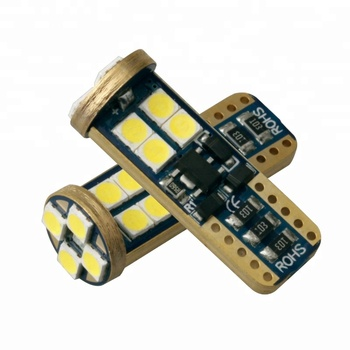 Warranty 2 years T10 12 SMD 3030 CANBUS w5w light