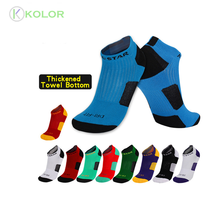 KOLOR-II-0314 football cheville chaussettes