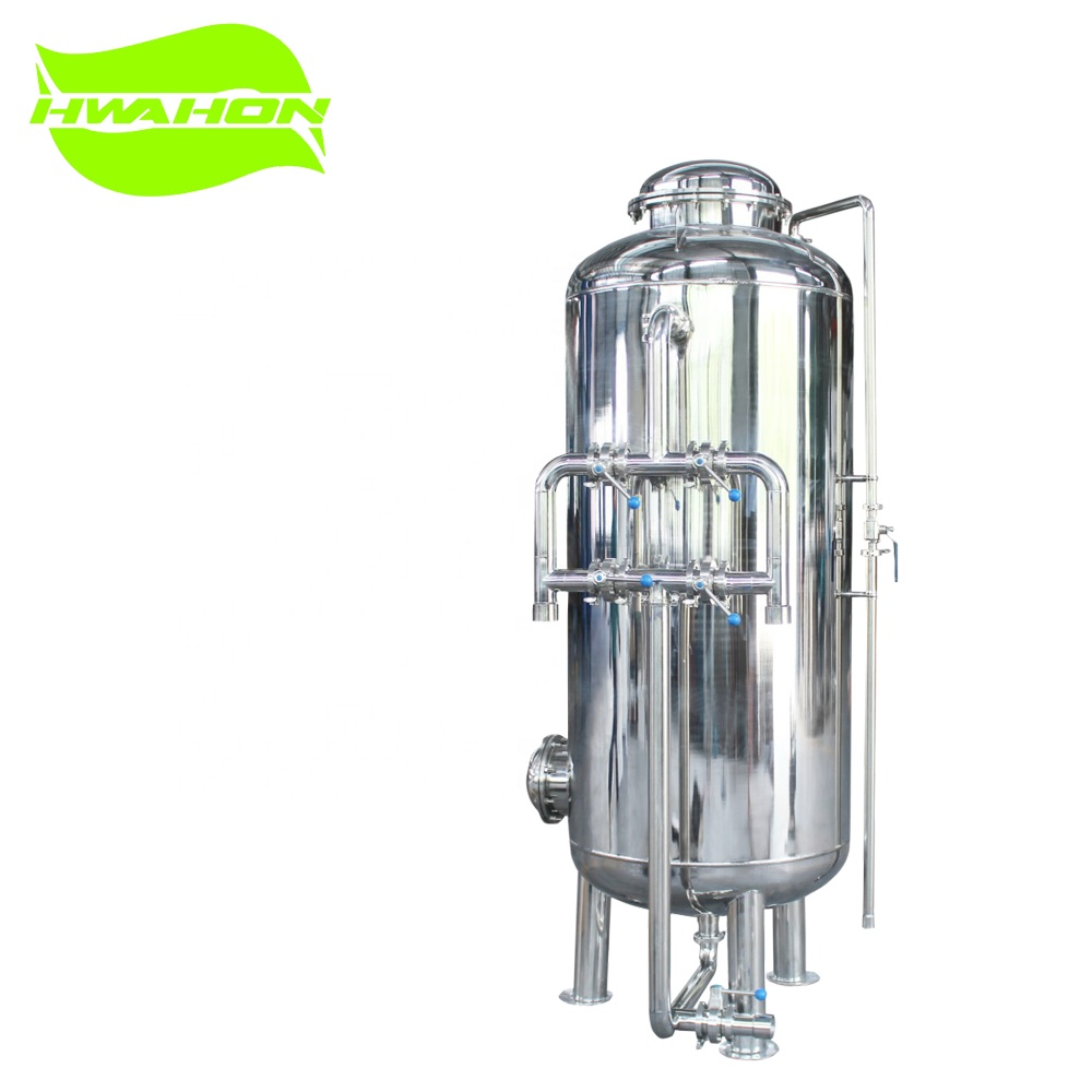 Stainless steel 304/316 or carbon steel Industrial sand filter housing <strong>filtration</strong> for drinking water