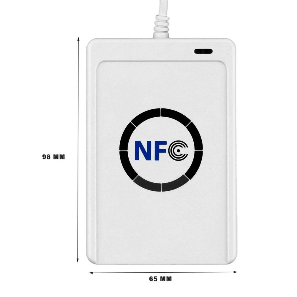 USB NFC 13.56MHz RFID Contactless Smart Card Reader Writer ACR122u