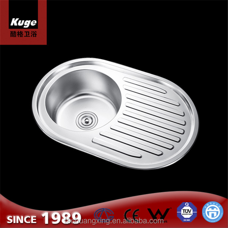 round single bowl kitchens stainless steel wash basins portable sink