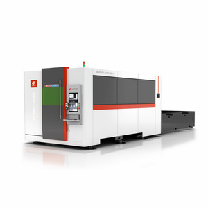 swiss design mini fiber laser cutting machine 500w cutting 3mm carbon steel e sheet with 3 years warranty for good performance