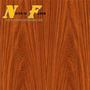 7.5mm orange back fire resistant laminate flooring
