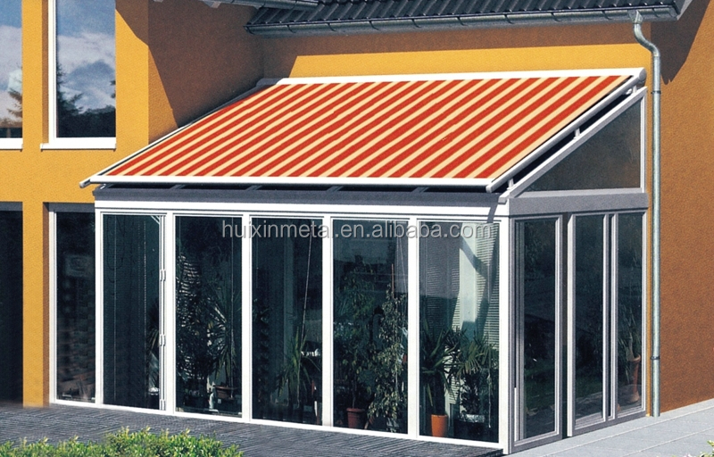 Aluminium Awning Shade For Outdoor Tempered Glass Greenhouse U0026 Sun Room Roof