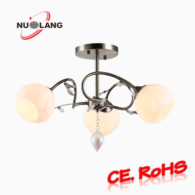 Frosted Glass Shades Set Of 6 Chandelier Parts Branch Arms Garden Idea Modern