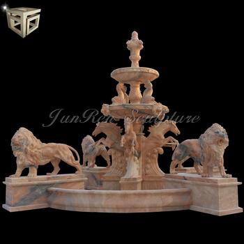Large Outdoor Garden Water Fountain Marble Fountain
