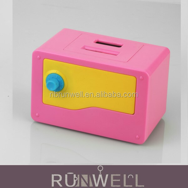 Making saving funny Digital coin counting secure coin box with password