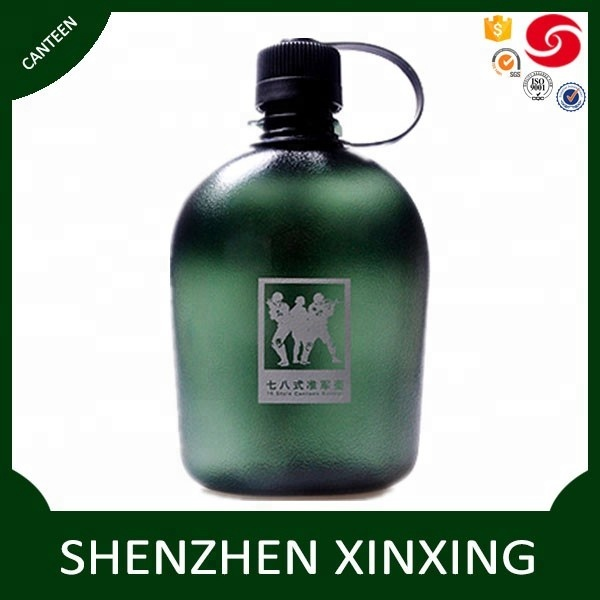 Plastic Tritan Sports Water Bottle Portable with Strap for Hiking Camping Ltd BOTTLED JOY Military Canteen Water Bottle 1 Quart Shen Zhen Xin Yue Tang Plastic /& Hardware Co