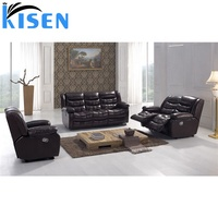 2019 comfortable sectional modern leather sofa bed cheap reclining sofa