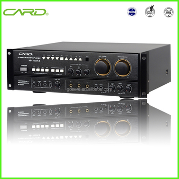 Traditional Classical Type Karaoke Power Amplifier