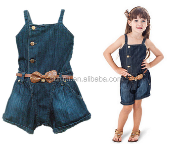 e5a16629593 New arrival posh baby girls denim onesie organic tunic rompers for vintage  girls designer girls boutique