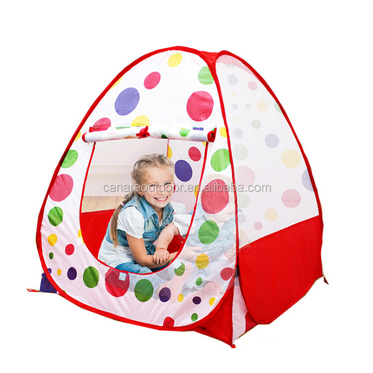 Outddor Portable Pop Up Kids Indoor Play Tent with Ball Pool