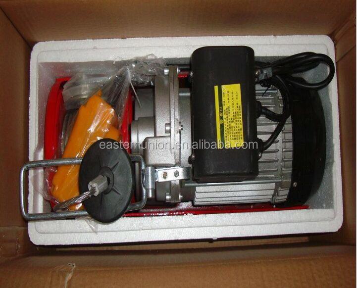 Best selling pa500 pa1000 100 kg peque o mini polipasto de - Cable electrico barato ...