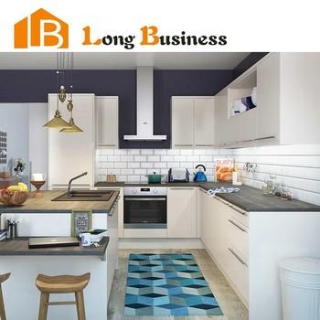 lb dd1121 des matériaux de mdf blanc haute armoire de cuisine