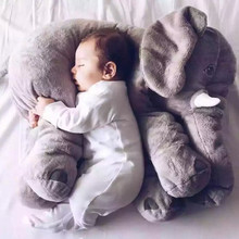 China supply cheap baby plush and stuffed elephant toys pillow in stock