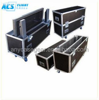 Movable case for Sony TV/road case for HDTV/case for flatscreen TVs for sale