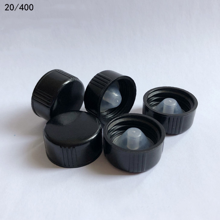 38/400 BLACK Bakelite cap with plug,UF cap, Prevent Leakage Phenolic cap